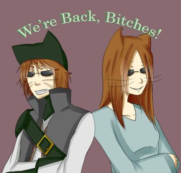 We're Back! by AggressiveArtist