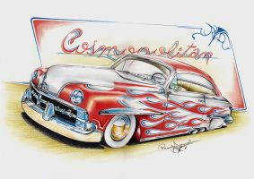 Lincoln Cosmopolitan 1950 by ink-line