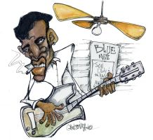 joe ugly blues nite by sketchoo
