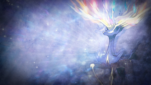 Wallpaper X ~ Xerneas. by Mackaged
