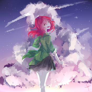 cloudy night //new style/// by Sei-Chan88