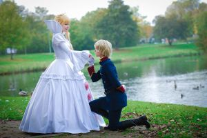 Aldnoah.zero - Princess and Knight by Rayi-kun