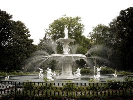 Forsyth Park Fountain by mtucker