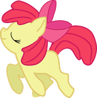Apple Bloom - Pretty Prancer by Creshosk