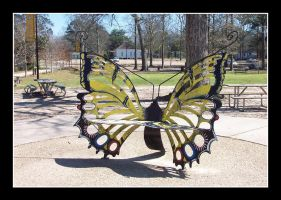 Butterfly Benches by Fukfire