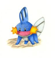 Mudkip by Icegoddesswolf16
