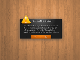 Window Notification Concept 2 by rodrigoDSCT