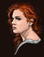 Lydia Martin - The Wailing Woman by DafnaWinchester