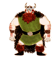 STOICK THE GINGERBEARD by NapoleonBonerhard
