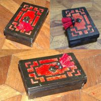 Chinoiserie Tarot Box by blue-fusion