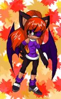 Kayla the Bat- Birthday time by BombChic