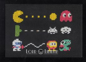 Retro Trio Cross Stitch by LordLibidan