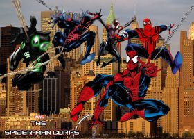 Marvel's The Spider-Man Corps by stick-man-11