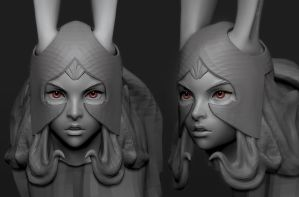 Fran Wip 6 by HazardousArts