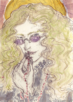 Saint Lestat by Howleglass