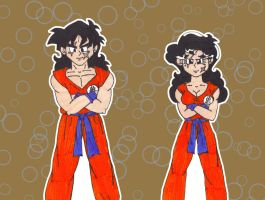 Me and Me: Yamucha by starrdust411