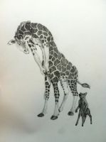 Draw a Centaur Day - Giraffe and Pudu by Toledo-the-Horse