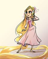 Rapunzel by potatofarmgirl