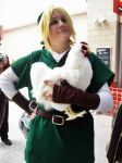 Link Caught A Cucco by stripeydani