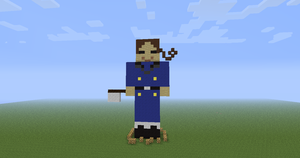 (APH) Italy minecraft by lollimewirepirate