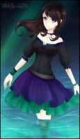 .:Contest Prize:. The Witch by BlackStarsShineToo