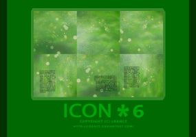 6-ICON-Green-TEXTURES by Lrance