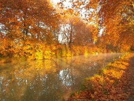 Canal du Midi IV by fairling-stock