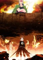 Random Hetalia and Attack on Titan Photoshop by DuchessDL