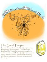 The Sand Temple by Dawnflyer