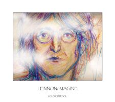 LENNON:  IMAGINE by montalvo-mike