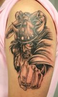 Viking Warrior Tattoo by 2Face-Tattoo