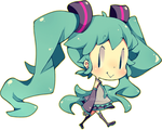 Little Miku by Pikiru