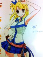 fairy tail lucy__heartfilia by izanami159