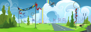 Wonderbolts Academy Flying Field by Ambassad0r