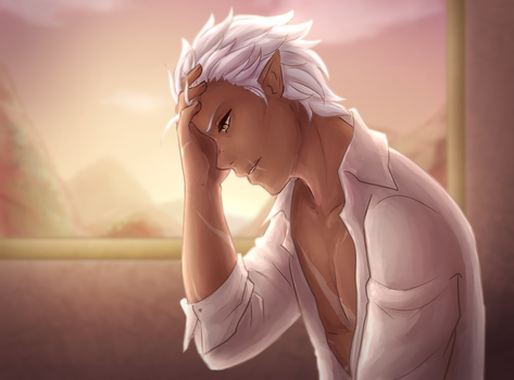 is he angsty or hungover by Rumiiya