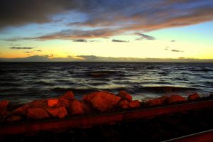 The Pacific at Dusk by Phate1596