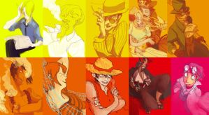 one piece: huevember by faQy