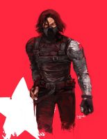 bucky Barnes by duckbanks