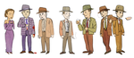detectives n co by style-xx