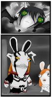 Bleach Raving Rabbids by TRZaraki