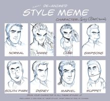 Different Styles Meme by Holly-the-Laing