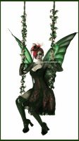 . absinthe fairy . by Countess-Grotesque