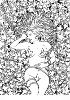 Poison Ivy II. by BlackLabelArt