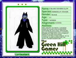 Green hill Games contestant by BlackmoreCrest