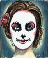 Sugar Skull by Rachael-Lee
