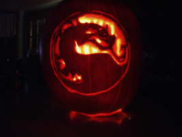 Mortal Kombat Pumpkin by pyrohmstr