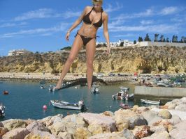Gemma Atkinson's Toy Boats by Accasbel