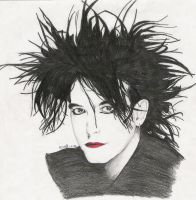 Robert Smith by curegirl0128