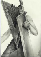 Pyramid Head by BlackDemonFang