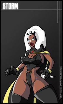 Storm is an Undercover Freak. by I-Like-It-Juicy